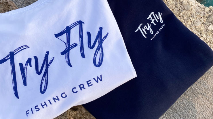 TryFly Fishing Crew Shirts, Hoodies & more